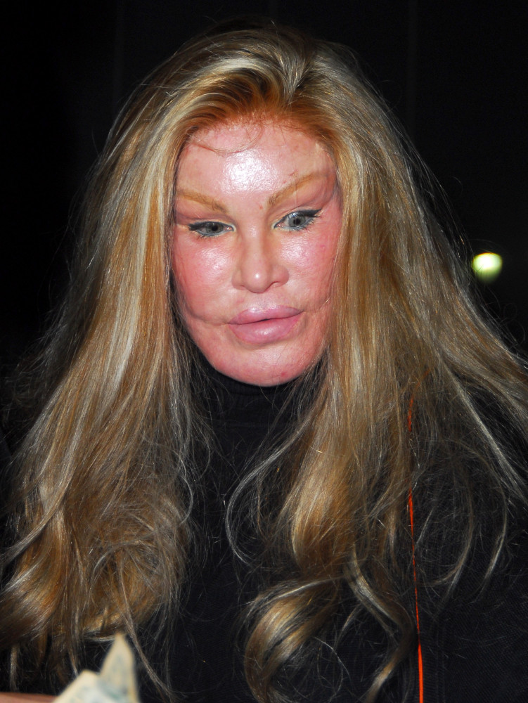 Jocelyn Wildenstein Famous for her extensive plastic surgery leaving Katsuya restaurant in Hollywood after dining with a male companion Los Angeles, California - 18.02.08 Featuring: Jocelyn Wildenstein Where: Los Angeles, California, United States When: 18 Feb 2008 Credit: Homero Tercero/WENN